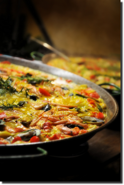 One of our paellas